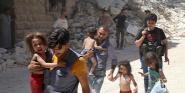 Forrás: AFP/Baraa Al-Halabi