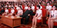 Forr�s: MTI/EPA/YONHAP/RODONG SINMUN/Rodong Sinmun