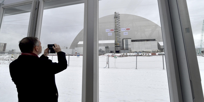 Napelemekkel újra energiát termel majd Csernobil