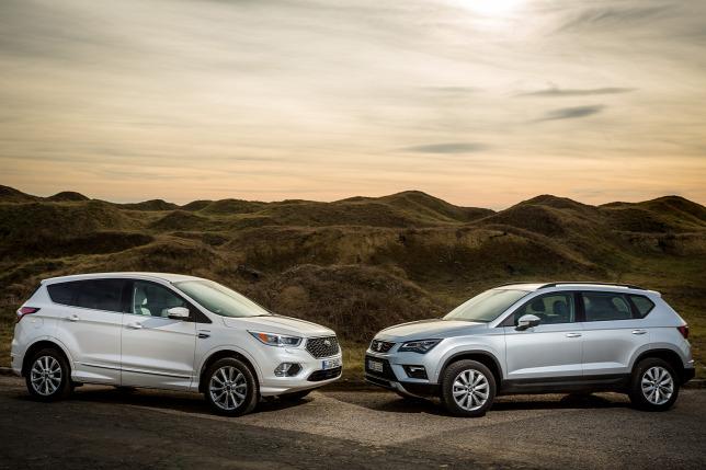 Image Result For Ford Kuga Vs Seat Ateca