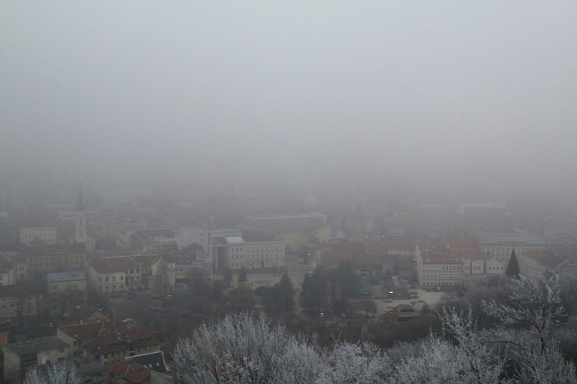 Lefújták a szmogriadót Miskolcon