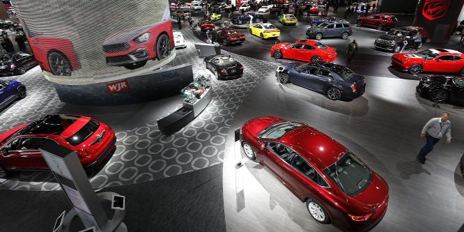 Düledezik Amerika autós fellegvára – Detroiti Autószalon 2017
