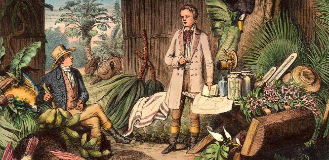 Nyilvános Alexander von Humboldt páratlan hagyatéka