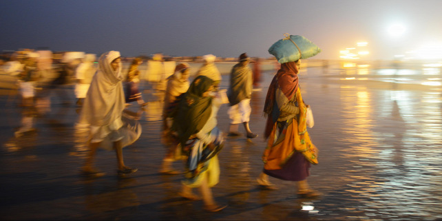 Forrás: AFP/Dibyangshu Sarkar