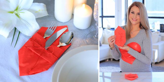 Így dekoráld az asztalt, ha valami szépet szeretnél a vacsora mellé