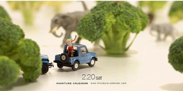 Forrás: http://miniature-calendar.com/