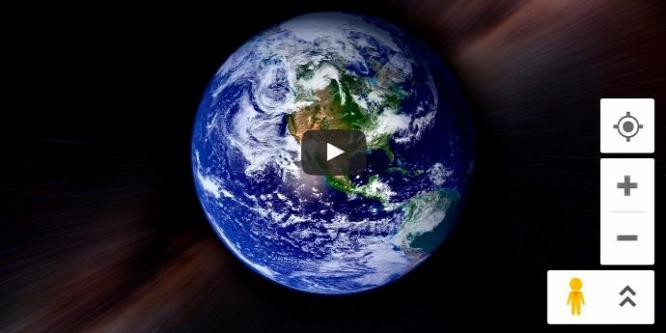 Elképesztő videót készített a Google Térképpel