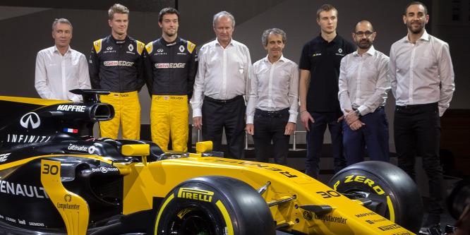 Renault: Bajban lehet a Williams és a Force India