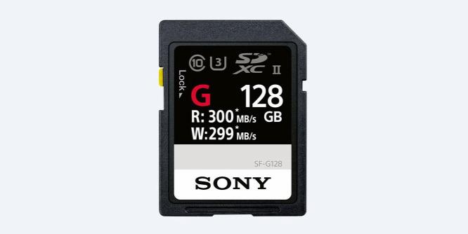 A Sony bejelentette a világ leggyorsabb SD-kártyáját