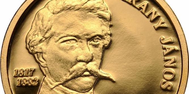 Emlékérme Arany János születésének 200. évfordulója alkalmából