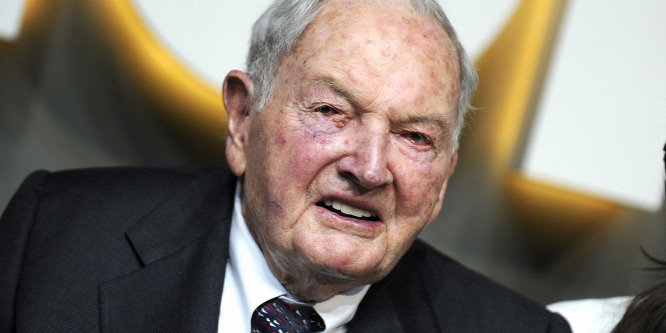 Százegy éves korában elhunyt David Rockefeller, a világ legidősebb milliárdosa