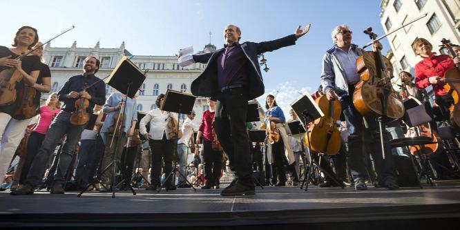Ingyenes koncerteket ad a Budapesti Fesztiválzenekar