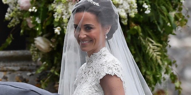 Esküvő: Pippa Middleton virágai 30 millióba kerültek