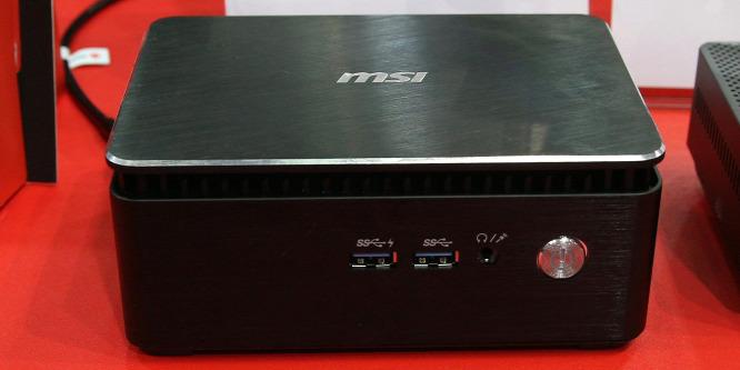 A monitor hátuljára szerelhető az MSI Cubi 3 mini PC