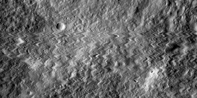 Bizarr felvételt rögzített az űrszonda kamerája