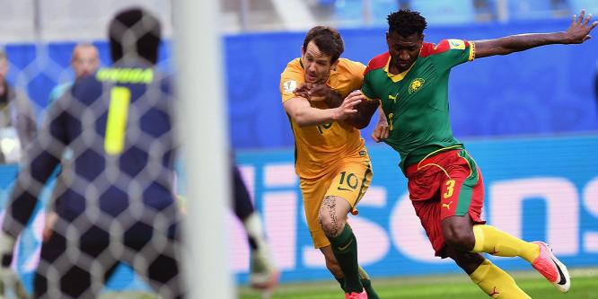 Kamerun és Ausztrália továbbra is nyeretlen a Konföderációs Kupán