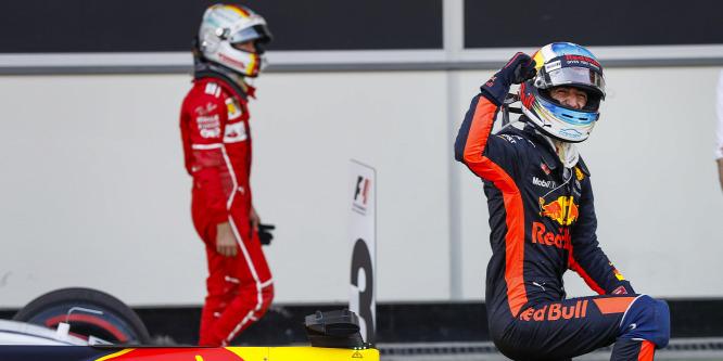 Ricciardo: Az volt a kérdés, Vettelt mennyire büntetik meg