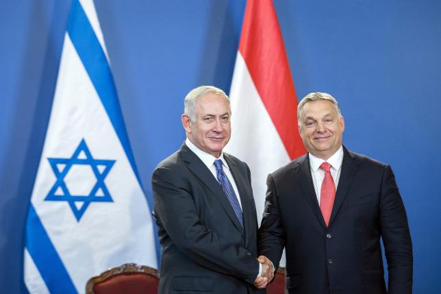Netanjahu Magyarországon a Parlamenthez érkezése és fogadása videón + Sajtótájékoztató + V4-találkozó + Szijjártó: Minden lehető kérdésben kiállunk Izrael mellett