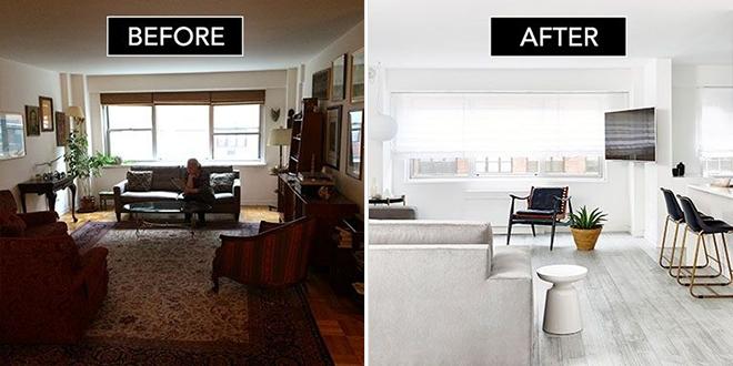 Ilyen Egy Belsőépítész Lakása Manhattanben Előtte-utána Fotók