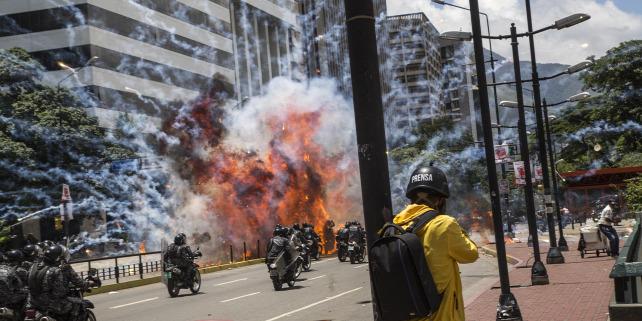 Forrás: AFP/Citizenside/José Sierralta