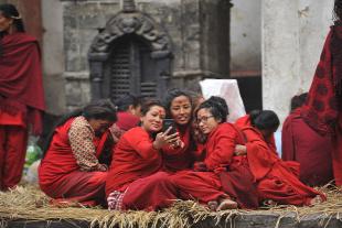 Forrás: AFP/NurPhoto/Narayan Maharjan
