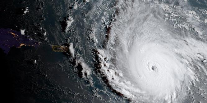 Lecsapott Irma a Karib-szigetekre