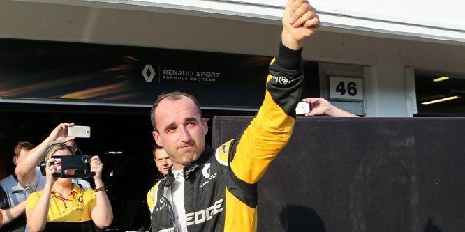 Kubica lelép a Renault-tól, a Williamsnél köthet ki