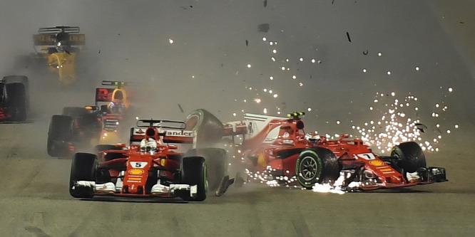 Räikkönen szingapúri esése szinte tökéletes másolat volt
