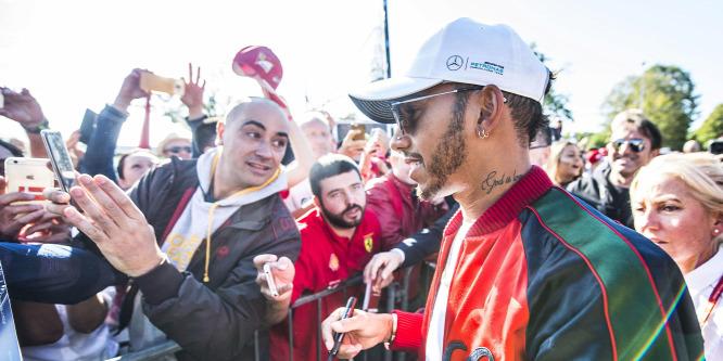 Hamilton: Nem adottság, hogy van helyem az F1-ben