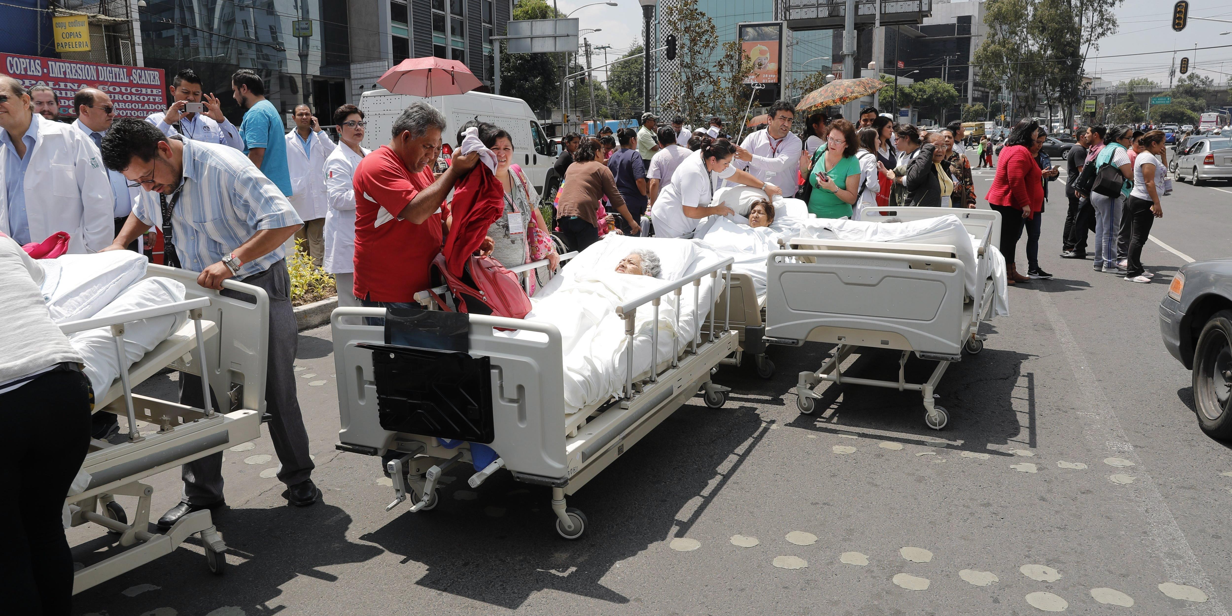 Már 200-nál is több halott Mexikóban