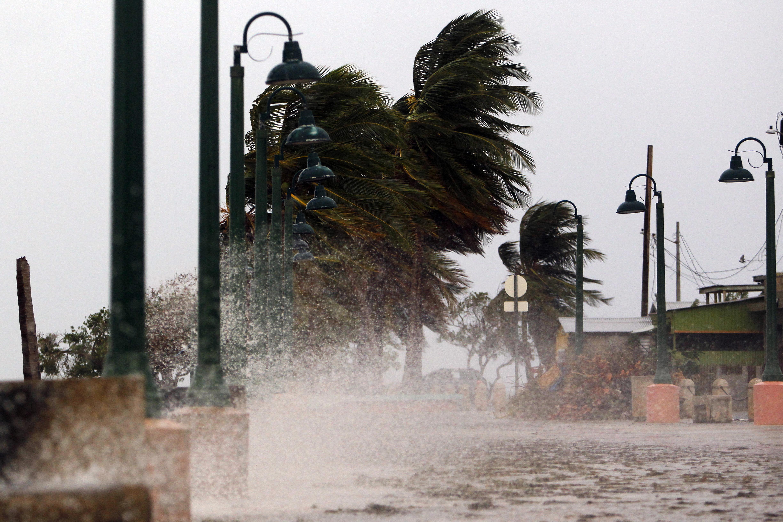Lecsapott Puerto Ricóra a Maria hurrikán