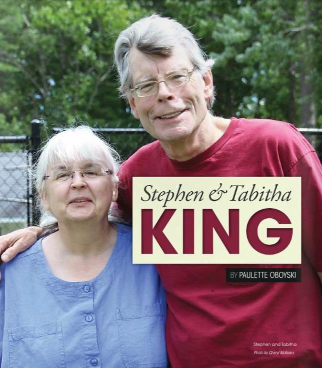 Stephen King feleségével