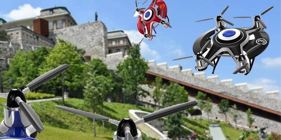 Drónok és űrhajók szállnak le a Várkert Bazárban