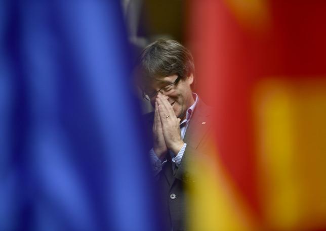 Katalán válság: Demokratikus ellenállásra szólított fel a katalán elnök