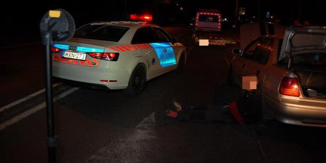 Benzinkutat akart rabolni, autós üldözés után kapták el