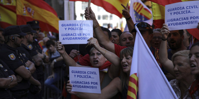 Felmérés: a katalánok többsége nem akar elszakadást