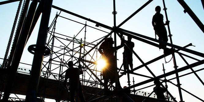 Nyolcéves csúcson a magyar építőipar