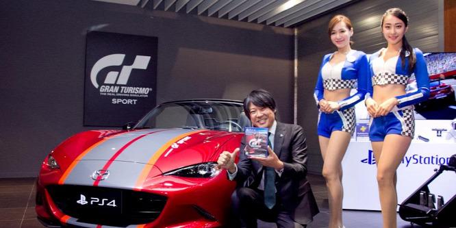Sportautó járt a PlayStation 4-es játékhoz