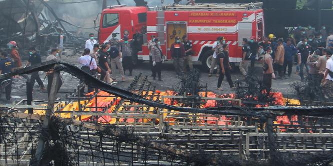 Felrobbant egy indonéziai tűzijátékgyár