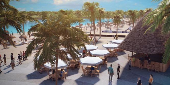 Európa legnagyobb mesterséges strandját építik meg