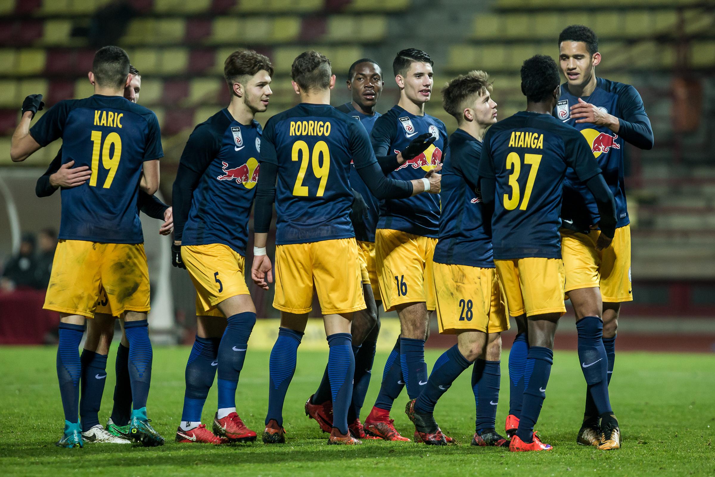 Megvan Szoboszlai első gólja a Salzburgban - videó