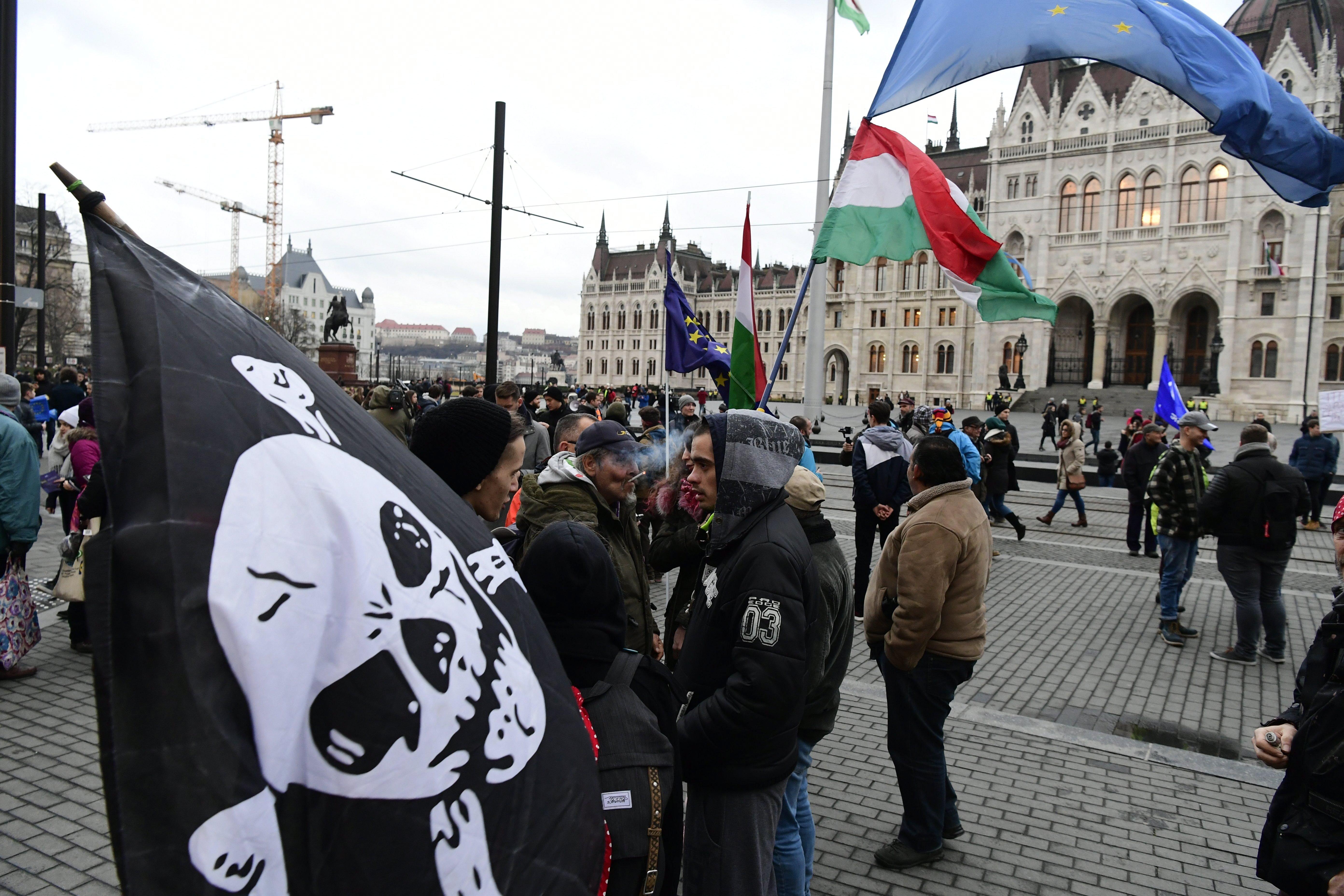 Tüntetés: Tüntetés A Kossuth Téren