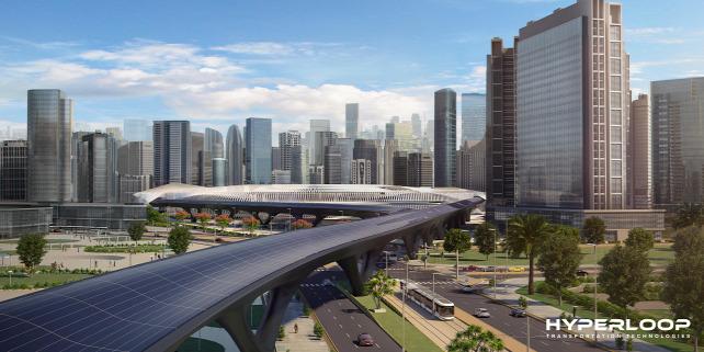 Forrás: Hyperloop TT