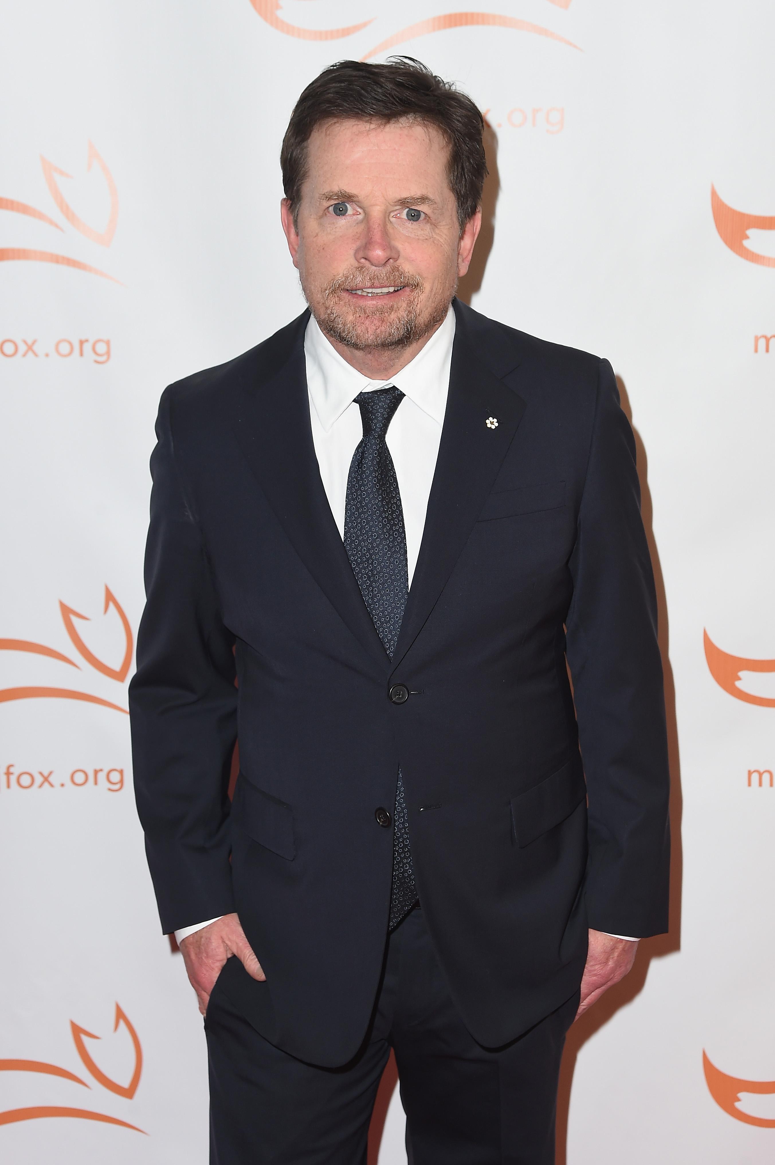 Michael J  Fox whispered