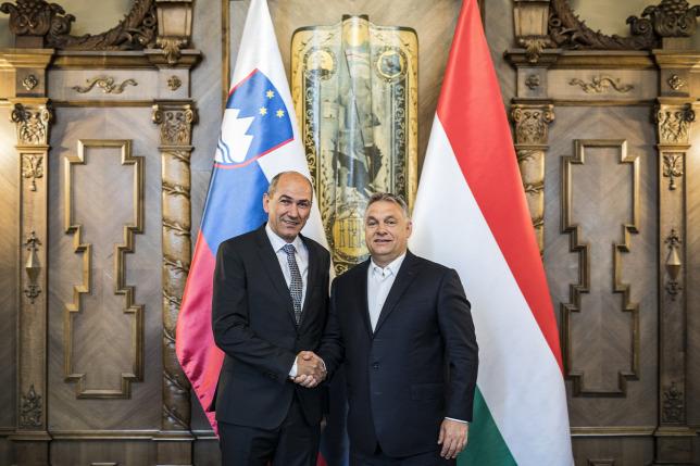 Orbán Viktor a szlovén választások győztesével tárgyalt