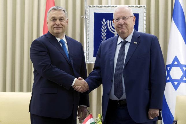 Reuven Rivlin izraeli elnök is megköszönte a magyar erőfeszítéseketForrás:  MTI/Koszticsák Szilárd