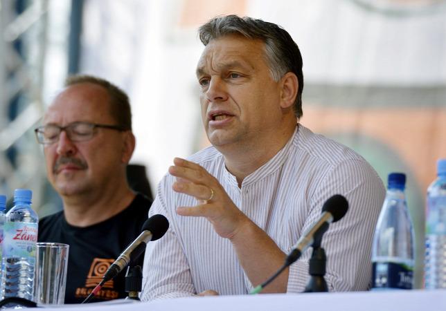 Orbán Viktor 2014-ben Bálványoson