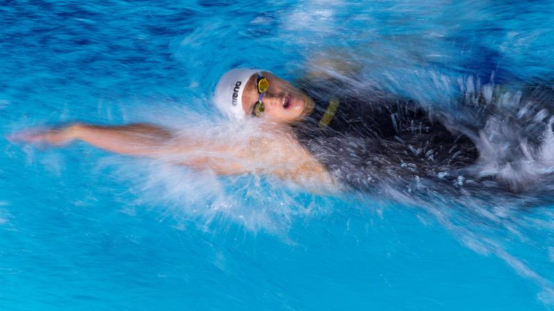 Úszás: Késely Ajna duplázott Glasgowban