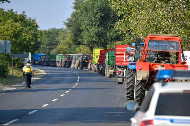 Tüntetnek az almatermelők az alacsony felvásárlási árak miatt