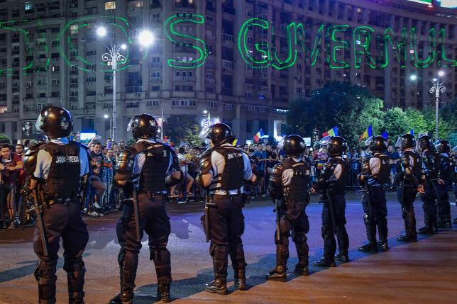 Tíz román csendőr követhetett el bűncselekményt a tüntetések alatt